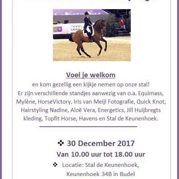 Voel je welkom, 30 December op onze clinicdag!